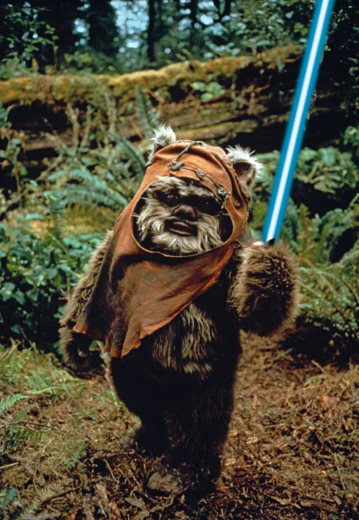 Walk like an Ewok. | COMM 2302: Media Interpretation and Criticism