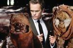 Barney with Ewoks